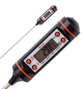 Термометр для пищи электронный на батарейках