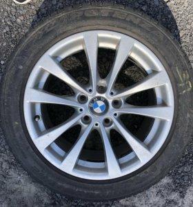 Колёса в сборе разноширокие на BMW 3