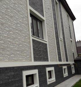 Виниловый сайдинг, фасадные панели Дёке Grand Line