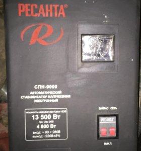 Стабилизатор ресанта спн 9000