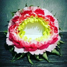 Диванчик цветок. Ростовые цветы. Для фотосессии.