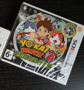 Yo-kai watch 2 Костяные духи.