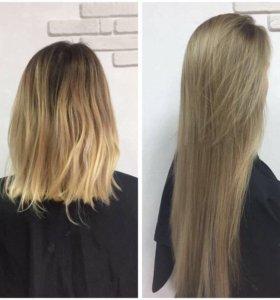 Наращивание волос/коррекция/выезд на дом