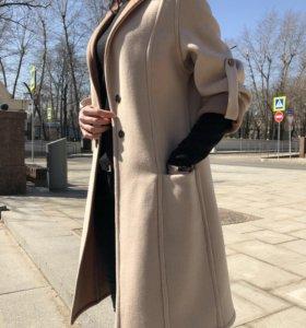 Пальто женское двустороннее из шерсти и кашемира