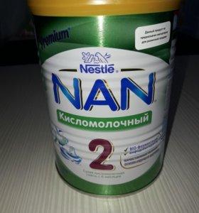 Кисломолочная смесь Нан-2
