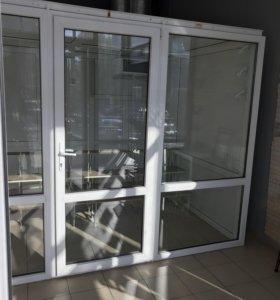 Витрина Холодильная для цветочного магазина