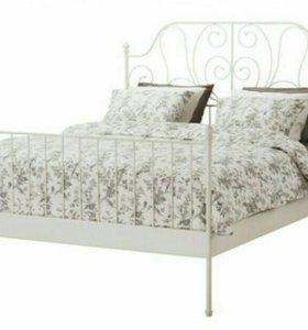 Кровать Икеа двуспальная