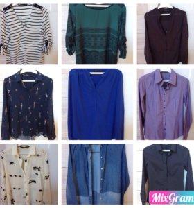 Блузки и рубашки, новые и б/у, hm, Zara, resserved