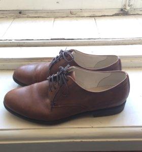 Ботинки туфли дерби женские Vagabond