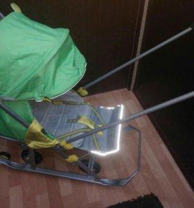 Санки коляска Ника 7