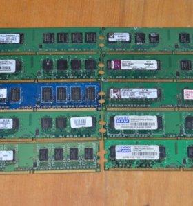 Оперативная память DDR2 и DDR