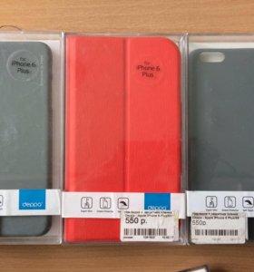 Чехлы на iPhone 6+ ; бампер