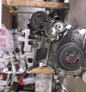 Двигатель на NISSAN MURANO QR25DE