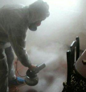 Удаление запахов, уничтожение насекомых.