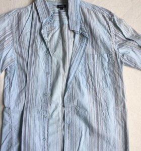 2 рубашки с коротким рукавом