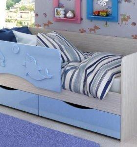 Кровать детская Дельфин 1,4