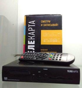 Комплект спутникового телевидения Телекарта ТВ