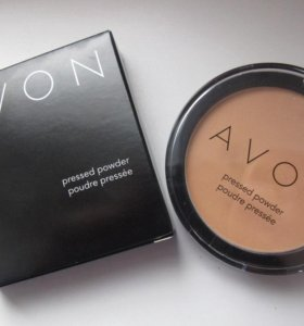 Компактная пудра Avon для лица pressed powder