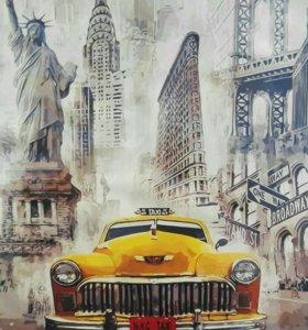 Картина по номерам Нью Йорк