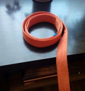 Оранжевый пояс каратиста
