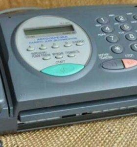 "Телефон-факс ""Sharp FO-85""."