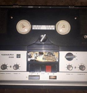 Катушечный магнитофон Комета-209