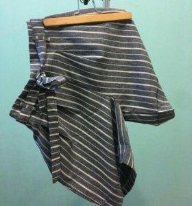 Стильные шорты с завышенной талией