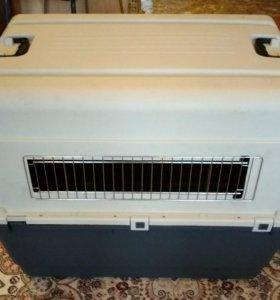 Переноска-контейнер для собак средних и крупных ра