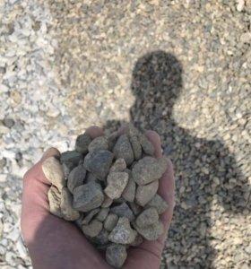 Щебень,гравий,отсев,гпс,песок