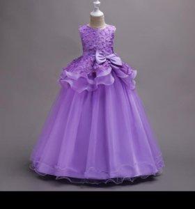 Платье пышное рост 128-150