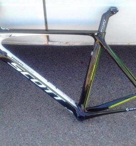 Рама шоссейного велосипеда Scott Foil