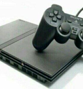 Sony PlayStation 2 +2 карты памяти и 25 дисков
