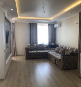 Квартира, 2 комнаты, 74.3 м²