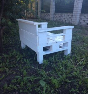 Новое садовое кресло