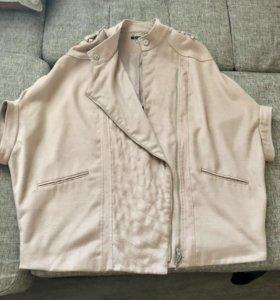 Куртка пончо накидка