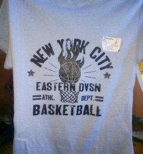 Новая мужская футболка, 46размер!