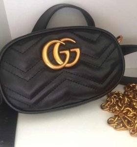 Новые сумки на пояс Gucci