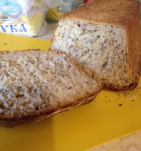 Хлеб Бездрожжевой домашний