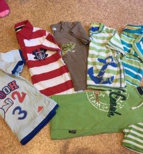 Футболки и шорты на мальчика 1-2 года