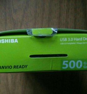 Внешний жёсткий диск HDD новый