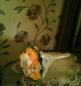 Букетик из роз