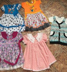 Платья детские в ассортименте