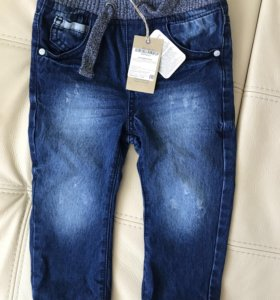 Продам новые джинсы Mothercare, на 12-18 месяцев
