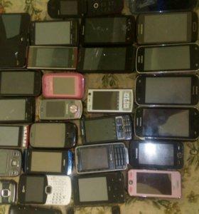 Планшет и смартфоны на запчасти или востановление