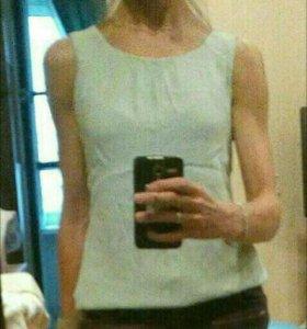 Майка, блузка без рукавов, Зара, 42-44