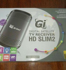 Спутниковый ресивер Gi slim2 mini hd + wi-fi