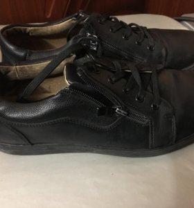 Туфли для мальчика р.39 кожа