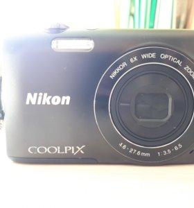Фотоаппарат Nikon COOLPIX S3200
