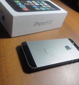 Айфон 5 s чёрный!