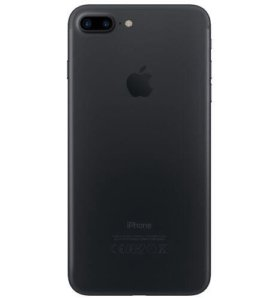 iPhone 7 плюс 128гб в кожаном чехле, каробка, доки